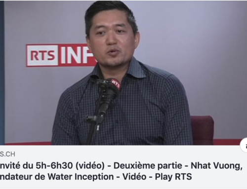 Water Inception in the media